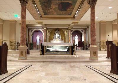 Interior Shrine Church 3